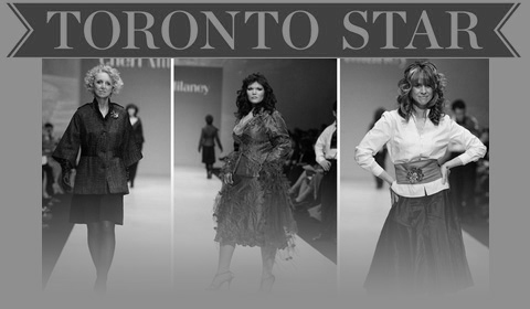 Five Outstanding Canadian Women Role Models Interpret Runway Fashion