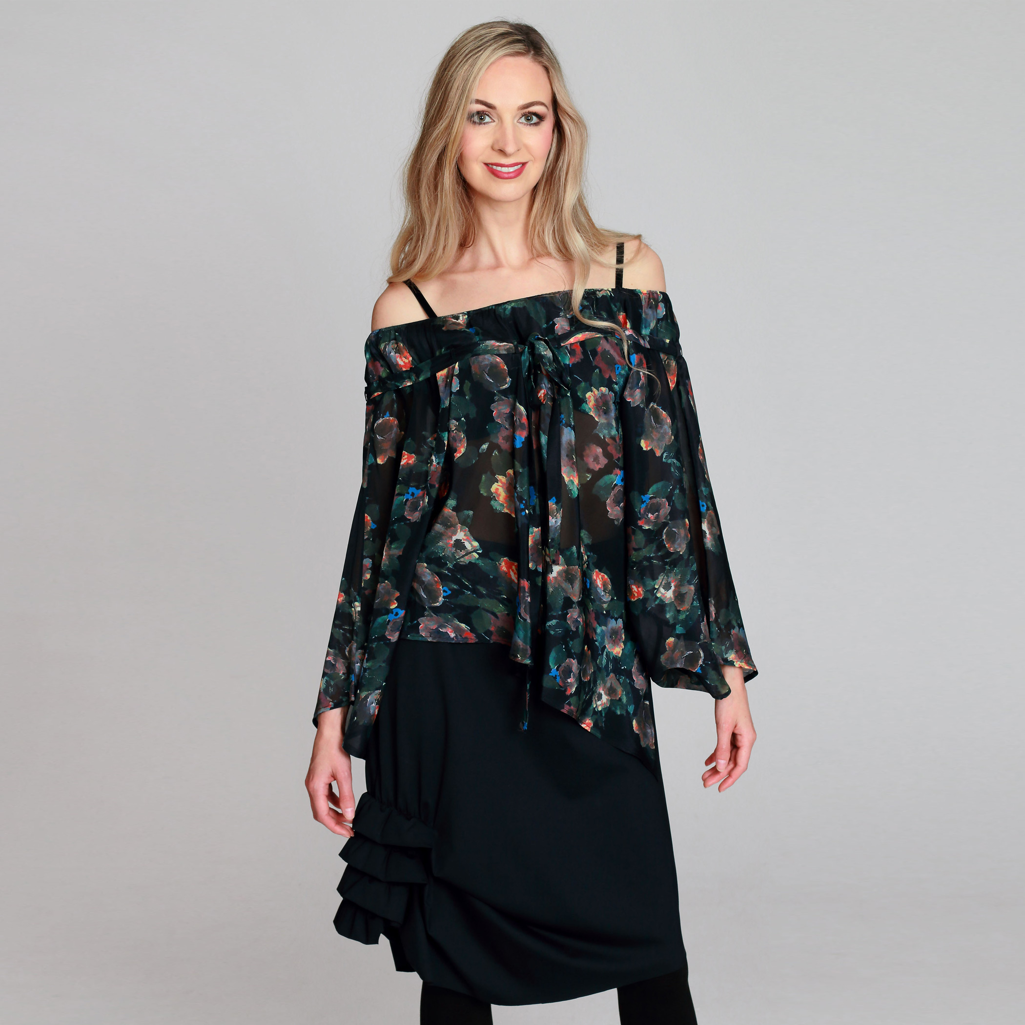 Off-Shoulder Gypsy Top