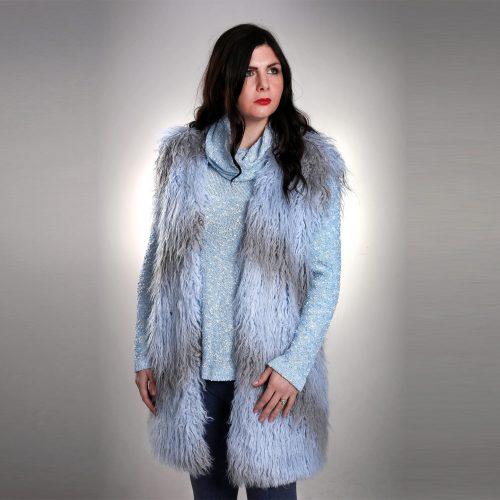 Eco Fur Vest